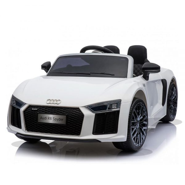 Audi R8 White Kids Ride On Toy Kids Top Cars Kids Ride On Cars