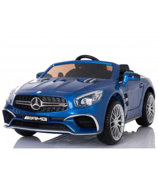 niebieski-lakierowany-mercedes-sl65-12v-2silniki-kluczyk-skora