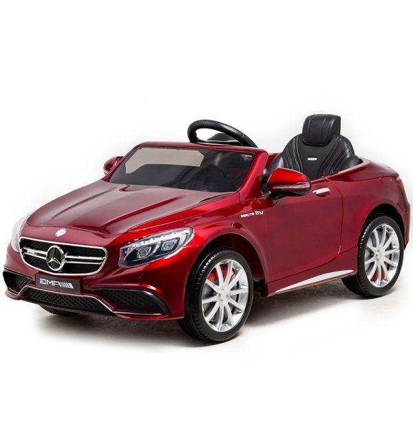 bernu-elektroauto-elektromobilis-elektro_auto_masina-mercedes-S63-AMG-sarkans-kidstopcars.com-01